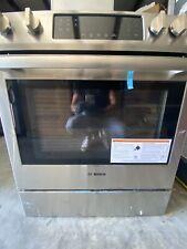 "Bosch Hgi8054Uc 30"" Slide In Gas Range +Hmv8052U 30"" Otr Microwave Oven"