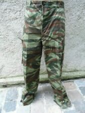 PANTALON CAMOUFLAGE LEZARD DATEE BONNE TAILLE / CAMO TROUSERS FRENCH ARMY 60th