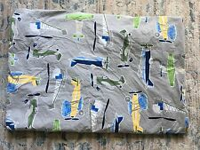 Pottery Barn Kids Airplane Twin Bed Duvet Cover