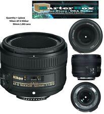 Nikon AF-S FX NIKKOR 50mm f/1.8G Lens for Nikon Cameras - Black