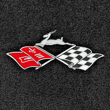 LLOYD Velourtex™ 4pc FLOOR MAT SET logos on front mats 1961-64 Chevrolet Impala