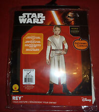 Halloween Disney Star Wars Rey Child Costume Rubies Size Medium 8-10 - New!