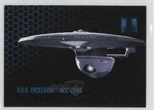1995 Skybox 30 Years of Star Trek Phase 1 #25 Ships USS Excelsior NCC-2000 6b1