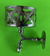 Arts & Crafts Art Deco Antique Bath Hardware Chrome Cupholder Pump Soap Holder