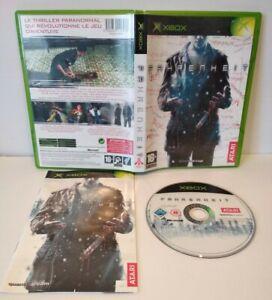 FAHRENHEIT - Jeu Xbox Classic / 360 - PAL français Complet - Très bon état