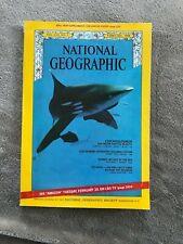 National Geographic February 1968 US Czechoslovakia Sharks Highways Ecuador