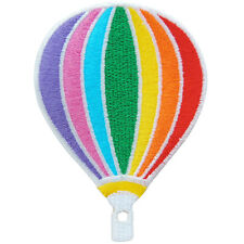 Cute Balloon Hot Air Rainbow Multi Colorful Cartoon Kids Iron on Patches #C213