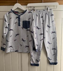 The Little White Company Boys Pyjamas Aged 7-8 Years
