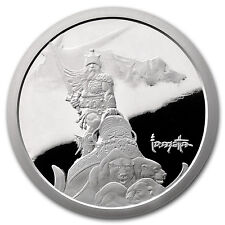 5 oz Silver Proof Round - Frank Frazetta (Silver Warrior) - Sku #97086