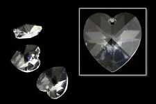14.4mm x 14mm Swarovski 6202 Crystal Heart Drop (Each)