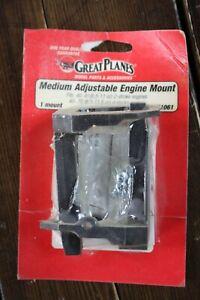Great Planes Medium Adjustable Engine Mount GPMG1061  NEW OLD STOCK #GW662