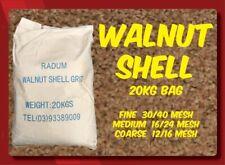 Walnut Shell Sandblasting Media (Medium/Fine) - Radum