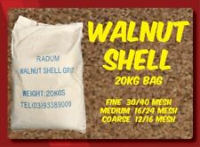 Walnut Shell Sandblasting Media (Course/Medium/Fine) - Radum
