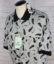 NWT Men's Player's Van Heusen Golf Shirt Size Large Classic Fit PGA Vtg 90s 80s
