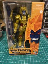 "2019 Power Rangers LIghtning Collection Mighty Morphin 6"" GOLDAR GameStop Hasbro"
