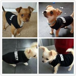 Boy Dog Clothes Shirt Cat Puppy Vest for Small Medium Pets Kitten Yorkie Maltese