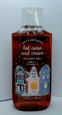 Bath and Body Works Hot Cocoa and Cream Christmas Shower Gel 10 fl oz NEW