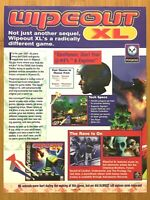 Wipeout XL / Lomax PS1 PSX 1996 Vintage Print Ad/Poster Official Promo Art Rare!