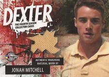 """Dexter Season 4 - D4-C JMY Jonah Mitchell """"T-Shirt"""" Costume Card"""