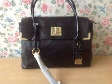 NEW ⭐️⭐️BIBA⭐️⭐️FAITH LIZARD Leather Tote BAG Purse⭐️⭐️ BNWT