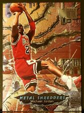 New listing 1997 Fleer Metal Shredders Michael Jordan