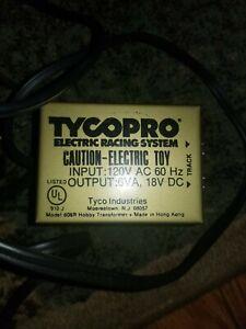 Tyco Pro Electric Racing System Transformer Model 608R 18VDC 6VA NICE !