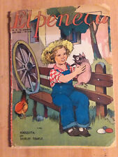 Shirley Temple Very Rare Vintage Magazine from Chile El Peneca 1938