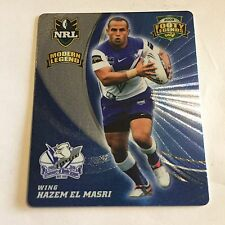 NRL Tazo Footy Legends Canterbury Bulldogs Hazim El Masri