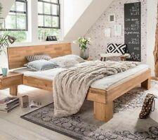 312edca470 Massivholz Doppelbett 180x200 Wildeiche massiv geölt Ehe Bettgestell holz  Bett