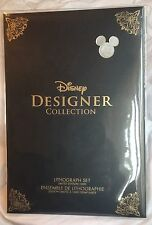 Disney D23 Expo 2017 EXCLUSIVE: Designer Doll Collection Lithographs LE 1000