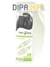 Cavo USB AM / BM TeKone TO-US204L Adattatore Stampante Scanner Lunghezza 3m hsb