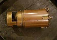 "ANTIQUE 1868 PATENTED SMALL BRASS MOTOR OSCILLATOR FAN ENGINE HEAVY 5"" x 2.5"""