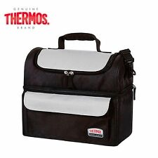 THERMOS SOFT LUNCH LUGGER Insulated Dual Compartments Bag Carry Picnic