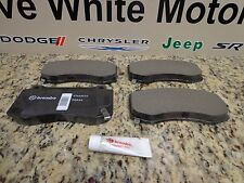 12-20 Challenger Charger 300 New SRT Front Disc Brake Pads BR4 Mopar Factory Oem