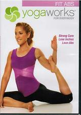 YogaWorks For Everybody Fit Abs Core Yoga Workout Exercise Fitness 2009 DVD