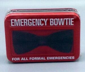 Emergency Clip-On Bow Tie For All Formal Event Emergencies - New in Box