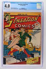 Sensation Comics #42 - DC 1945 CGC 4.0 - Wonder Woman