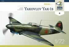 YAKOVLEV YAK-1 B (FRENCH, POLISH & SOVIET MKGS)#70028 1/72 ARMA HOBBY BRAND NEW
