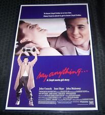 Say Anything John Cusack 11X17 Movie Poster