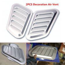 Universal Decorative Air Flow Intake Scoop Turbo Bonnet Vent Cover Hood Fender