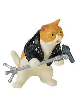 Re-Ment Miniature Cat Rock Band Toy Figure Set # 2 Backing vocal
