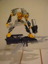 Lego Bionicle TOA IGNIKA Figure/Vehicle 8697 Assembled Set with gun and balls
