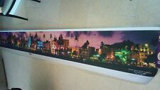 Miami Beach Panoramic Photo - HUGE 15' picture of South Beach Skyline ART DECO