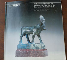 Sotheby's Auction Catalog 1984 Antiquities and Islamic Art