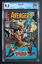 AVENGERS #39 HERCULES 1967 1st Triumvirate of Terror & Mares of Diomedes CGC 9.2