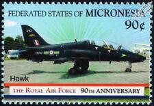 RAF BAe HAWK T1 Aircraft Stamp (1918-2008 Royal Air Force) Micronesia