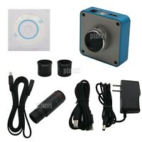 HY-1139su 34MP Industrial Microscope Camera 0.5X C-mount Lens 2K/1080P HDMI