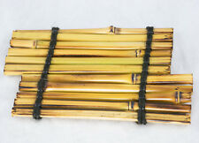Japanese Genuine Bamboo Slab YAKI KADAI for Vase, Status, Ikebana & Bonsai - 7""