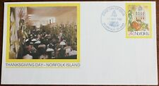 Norfolk Island – 1981 Thanksgiving Day – PS Envelope – FDC (Se5)