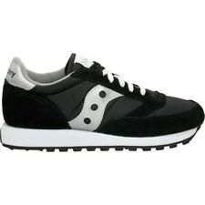 SCARPE SAUCONY JAZZ ORIGINALS BLACK SILVER 1044-1S UOMO DONNA 100% ORIGINALE